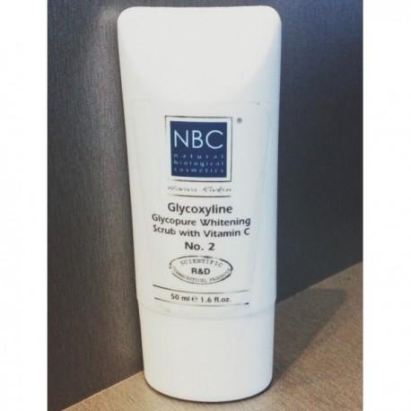 Glycopure Whitening Scrub + Vitamin C NBC Haviva Rivkin, 125 ml / Отбеливающая маска-скраб Хавива Ривкин, 125 мл