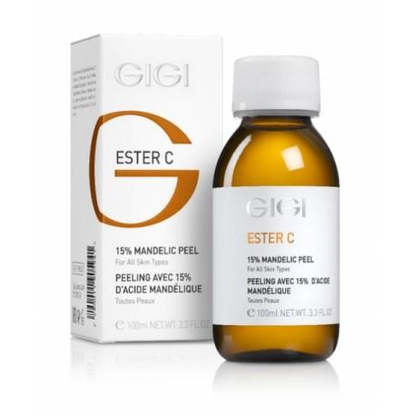 Mandelic peel 15% GIGI, 100 ml / Пилинг миндальный 15% ДжиДжи, 100 мл