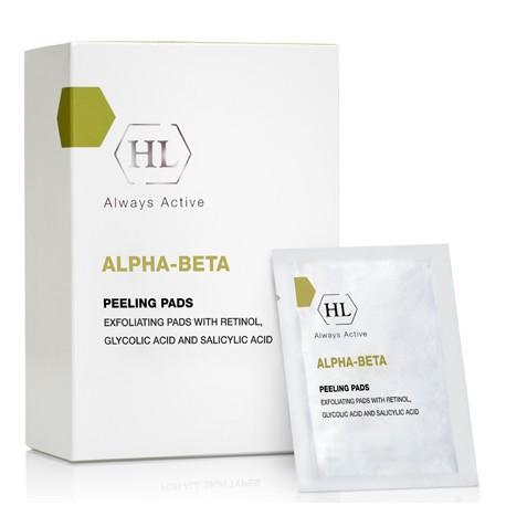 Alpha-beta & Retinol Peeling Pads Holy Land, 24 pcs / Пилинг-салфетки Холи Лэнд, 24 штуки