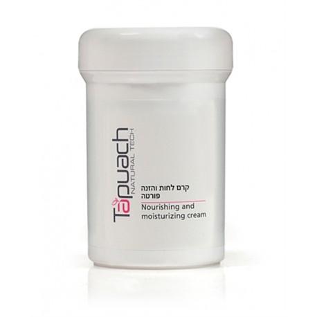 Moisturizing and Nourishing Cream Tapuach, 250 ml / Питательный и увлажняющий крем для лица для очень сухой кожи Тапуах, 250 мл