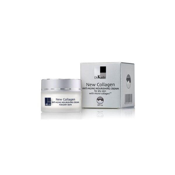 NEW-COLLAGEN Nourishing cream for dry skin Dr. Kadir, 250 ml / Питательный крем для сухой кожи c коллагеном Доктор Кадир, 250 мл