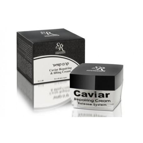 Caviar Cream SR Cosmetics, 50 ml / Питательный крем с экстрактом чёрной икры ЭсЭр Косметикс, 50 мл
