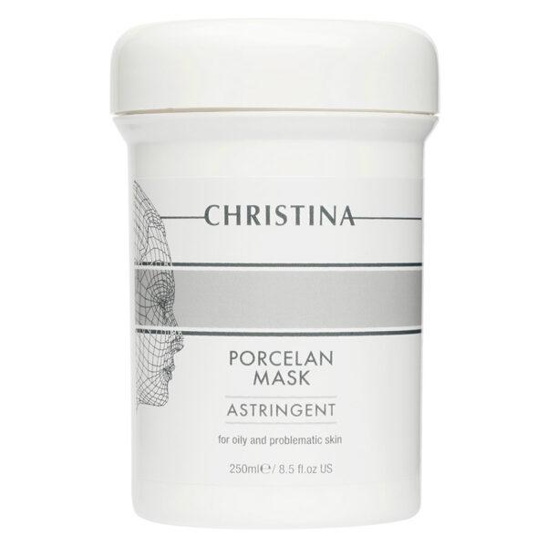 """Masks Porcelan Mask Astringent Christina, 250 ml / Поросуживающая фарфоровая маска """"Порцелан"""" Кристина, 250 мл"""