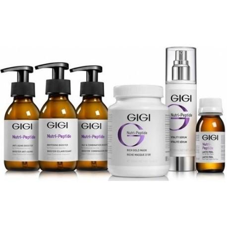 Nutri peptide Treatment kit GIGI / Профессиональный набор ДжиДжи