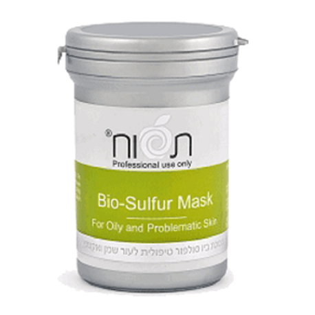Biosulfur mask for oily and problematic skin Tapuach, 250 ml / Противовоспалительная биомаска для жирной и проблемной кожи Тапуах, 250 мл