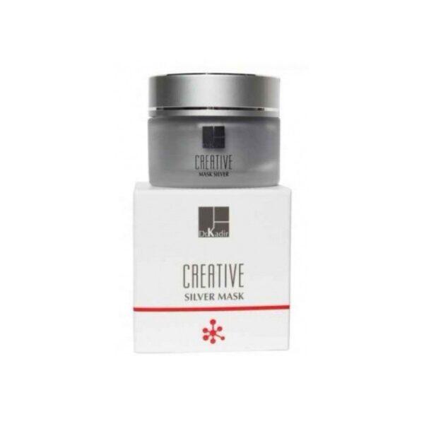 Creative Silver Mask Dr. Kadir, 50 ml / Серебряная маска Creative Доктор Кадир, 50 мл