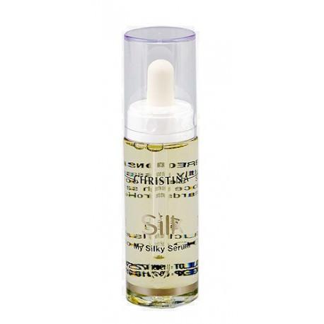 Silk My Silky Serum Christina, 30 ml / Шелковая сыворотка для заполнения мелких морщин Кристина, 30 мл