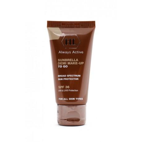 Sunbrella Demi Make-up To Go Holy Land, 50 ml / Солнцезащитный крем с тонирующим эффектом Холи Лэнд, 50 мл
