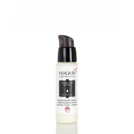 SunBlock SPF 50 Hikari, 30 ml / Солнцезащитный крем с защитой SPF 50 Хикари, 30 мл