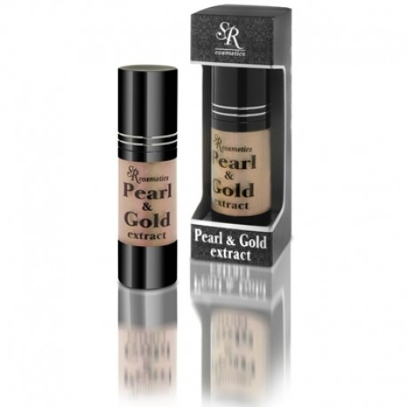 Gold 24K and Pearls Serum SR Cosmetics, 30 ml / Сыворотка золото + жемчуг ЭсЭр Косметикс, 30 мл
