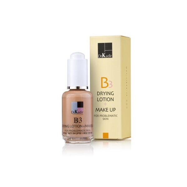 Drying Suspension + Make Up Dr. Kadir, 30 ml / Тонирующая эмульсия для кожи Доктор Кадир, 30 мл
