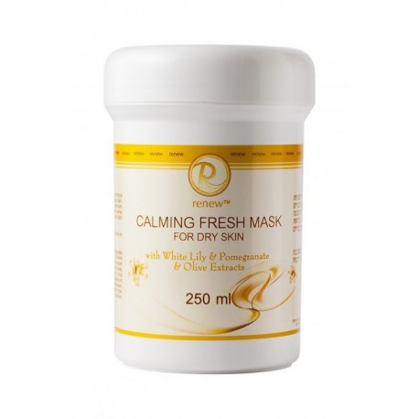 Calming Fresh Mask for dry skin Renew, 250 ml / Успокаивающая маска для сухой кожи Ренью, 250 мл