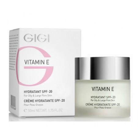 Ve Hydratant For Oily&Large Pore Skin Spf 20 GIGI, 50 ml / Увлажнитель для жирной кожи ДжиДжи, 50 мл