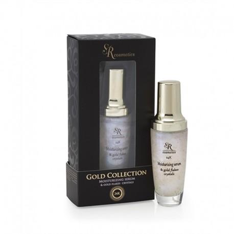 Gold & Moisturizing Serum SR Cosmetics, 50 ml / Увлажняющая сыворотка с золотой крошкой ЭсЭр Косметикс, 50 мл