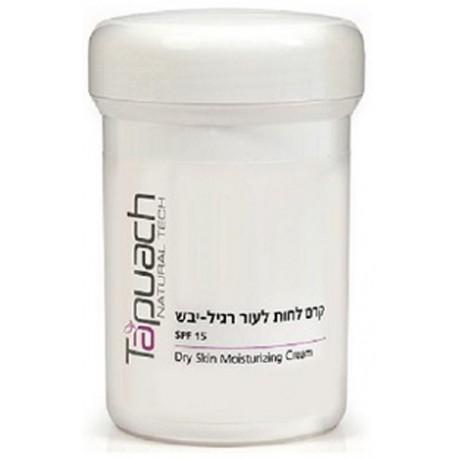 Dry Skin Moiturizing Cream SPF 15 Tapuach, 250 ml / Увлажняющий крем для лица для сухой кожи SPF 15 Тапуах, 250 мл