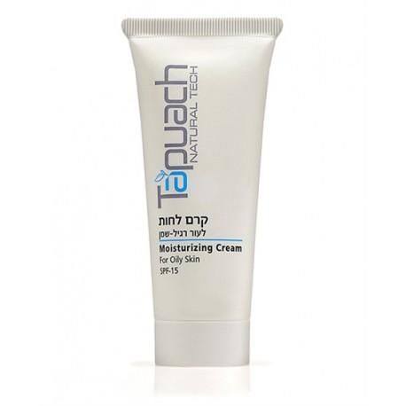 Oily skin mousturizing cream SPF 15 Tapuach, 70 ml / Увлажняющий крем для лица для жирной кожи SPF 15 Тапуах, 70 мл