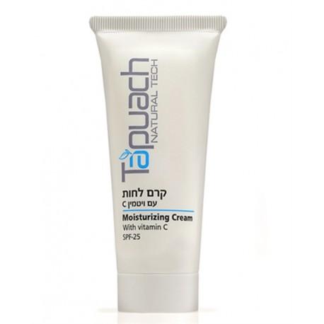 Vitamin C moisturizing Cream SPF 25 Tapuach, 70 ml / Увлажняющий крем для лица с витамином С SPF 25 Тапуах, 70 мл