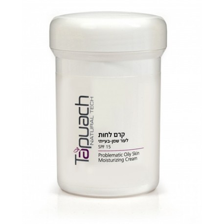 Problematiс Oily skin mousturizing cream SPF 15 Tapuach, 250 ml / Увлажняющий крем для лица SPF 15 Тапуах, 250 мл
