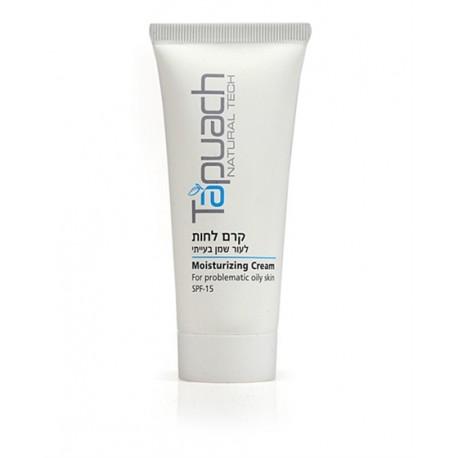 Problematiс Oily skin mousturizing cream SPF 15 Tapuach, 70 ml / Увлажняющий крем для лица SPF 15 Тапуах, 70 мл