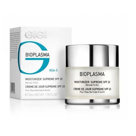 Moist Supreme SPF 20 GIGI, 200 ml / Увлажняющий крем для сухой кожи SPF 20 ДжиДжи, 200 мл