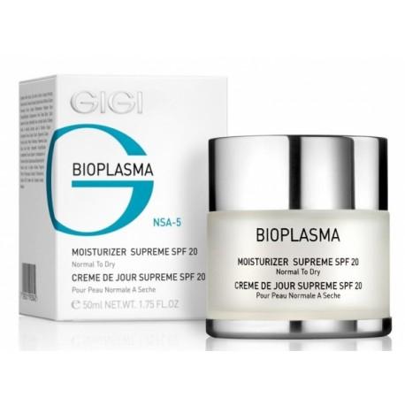 Moist Supreme SPF 20 GIGI, 50 ml / Увлажняющий крем для сухой кожи SPF 20 ДжиДжи, 50 мл