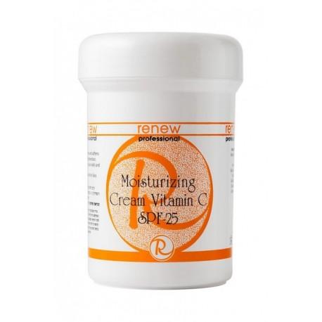 Moisturizing Cream Vitamin C SPF-25 Renew, 250 ml / Увлажняющий крем с витамином С Ренью, 250 мл