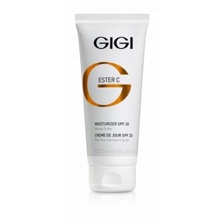 Moisturizing Cream spf 20 GIGI, 200 ml / Увлажняющий крем SPF 20 ДжиДжи, 200 мл