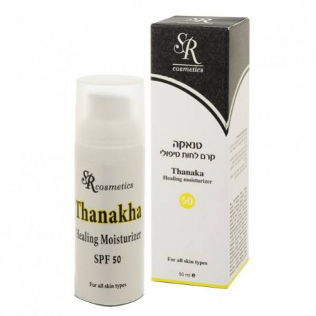 Thanaka SPF 50 SR Cosmetics, 50 ml / Увлажняющий крем Танака SPF 50 ЭсЭр Косметикс, 50 мл