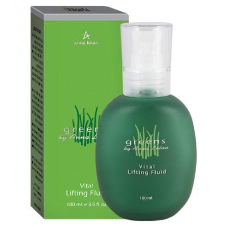 Greens Vital Lifting Fluid Anna Lotan, 100 ml / Витаминизированные лифтинг-капли Анна Лотан, 100 мл