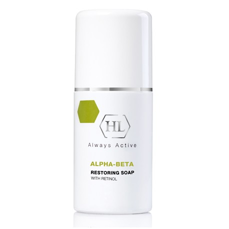 Alpha-beta & Retinol Restoring Soap Holy Land, 125 ml / Восстанавливающее мыло Холи Лэнд, 125мл