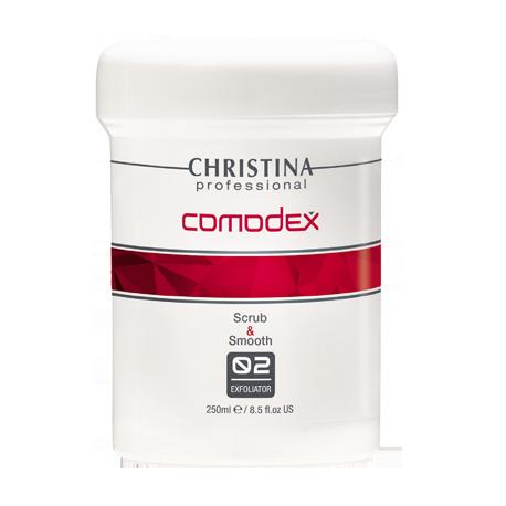Scrub&Smooth Exfoliator (Step 2) Christina, 250 ml / Выравнивающий скраб-эксфолиатор (шаг 2) Кристина, 250 мл