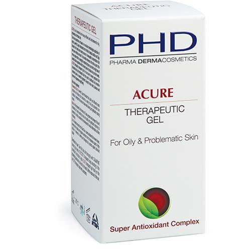 Acure Therapeutic Gel PHD, 50 ml / Противовоспалительный гель для жирной и проблемной кожи ПиЭйчДи, 50 мл