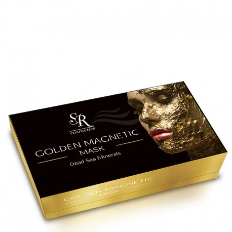 Golden Magnetic Mask SR Cosmetics Kit / Золотая магнитная маска ЭсЭр Косметикс, набор