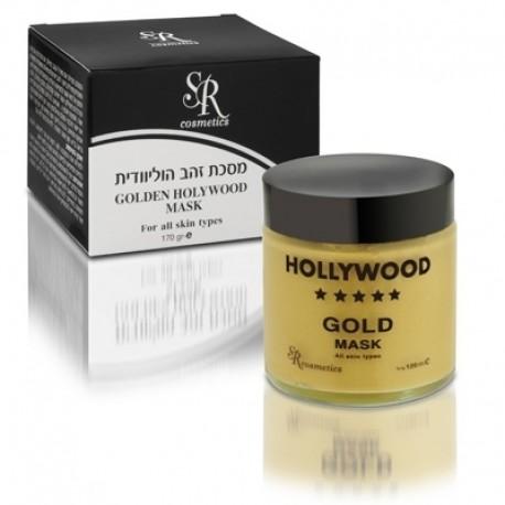 Hollywood Gold Mask 24K SR Cosmetics, 100 ml / Золотая маска Голливуд ЭсЭр Косметикс, 100 мл