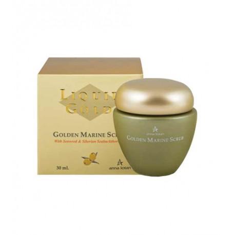 Golden Marine Scrub Anna Lotan, 30 ml / Золотой пилинг с морскими водорослям Анна Лотан, 30 мл