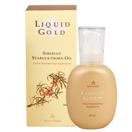 Facial Replenishing Supplement Anna Lotan, 100 ml / Золотые капли Анна Лотан, 100 мл